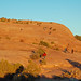Hiking to Delicate Arch, Arches National Park by JudyJack1960