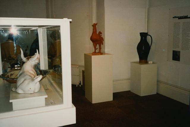 William Newland Exhibition, February 1996