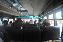 Autobús local cap al Borbudur