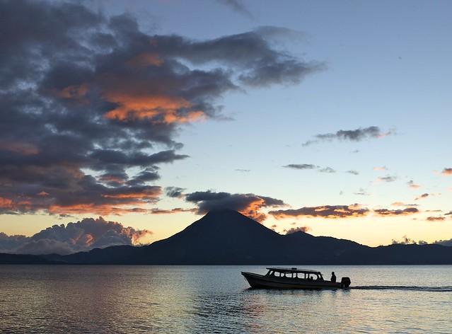 Sunset on Atitlan {explore}