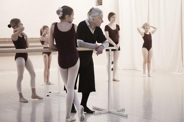 Marie-Louise Montague Stockholms balettstudio