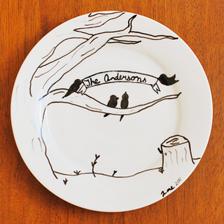 Porcelain drawing tutorial