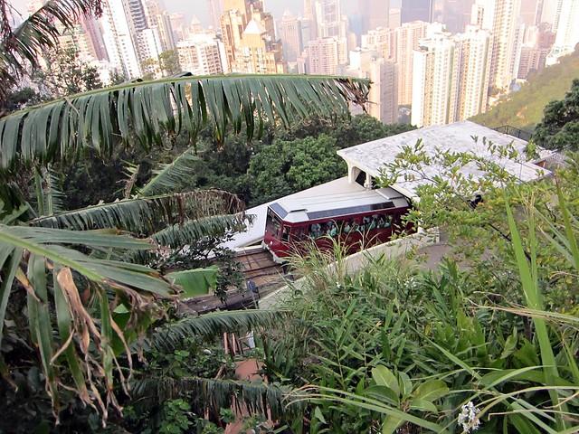 Peak Tramway in Hong Kong - Barker Road station