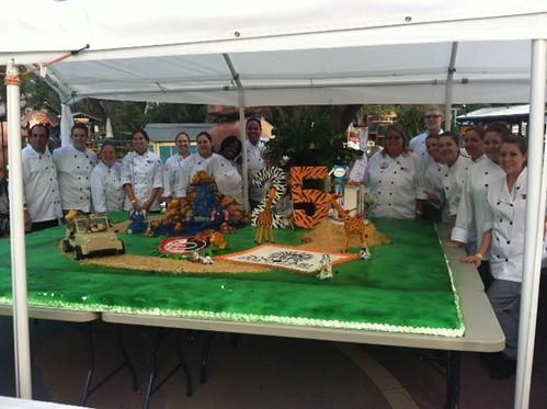 Ai Tampa Culinary Students at Zoofari Fundraiser