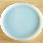 ターコイズブルー サラダプレート1