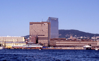 Oslo - Oslo Plaza Hotel, Post Office Tower, and Station