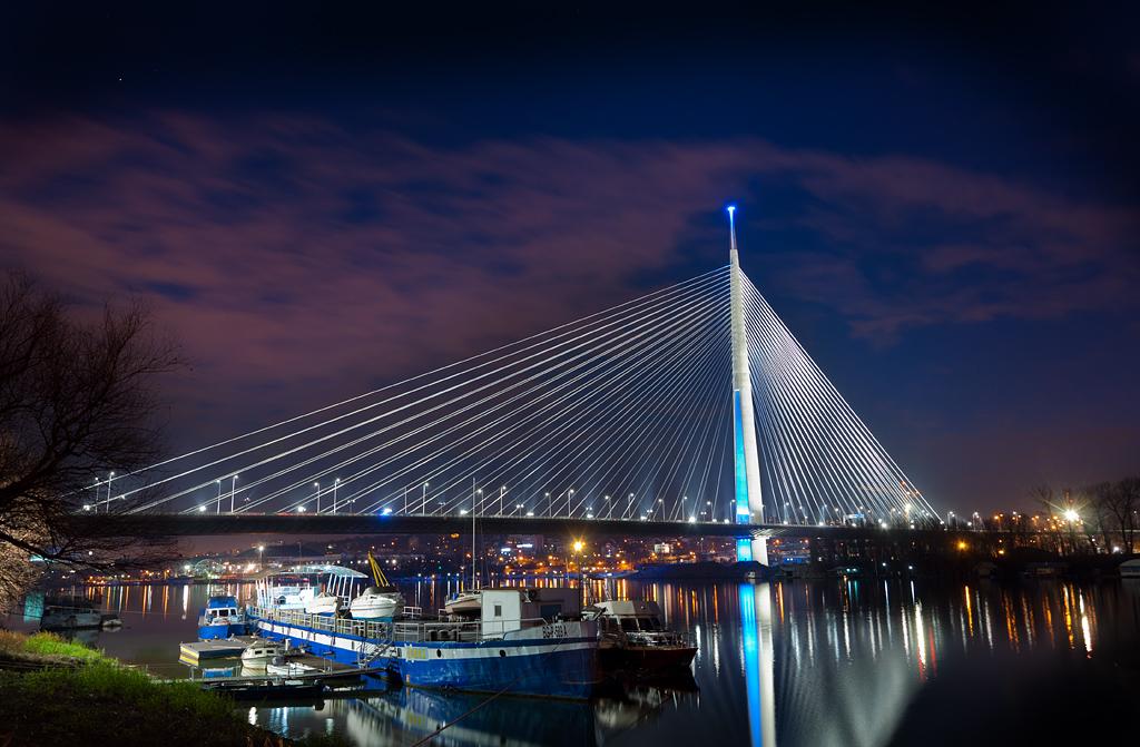 Most Na Adi Beograd Vukasin Aleksic Flickr