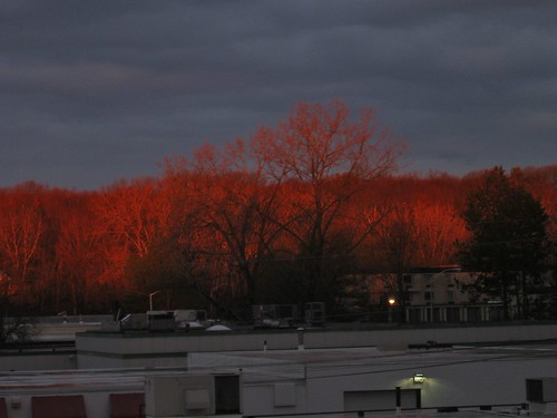 sunrise massachusetts photoaday brightcolors highlight westspringfield ahobblingaday