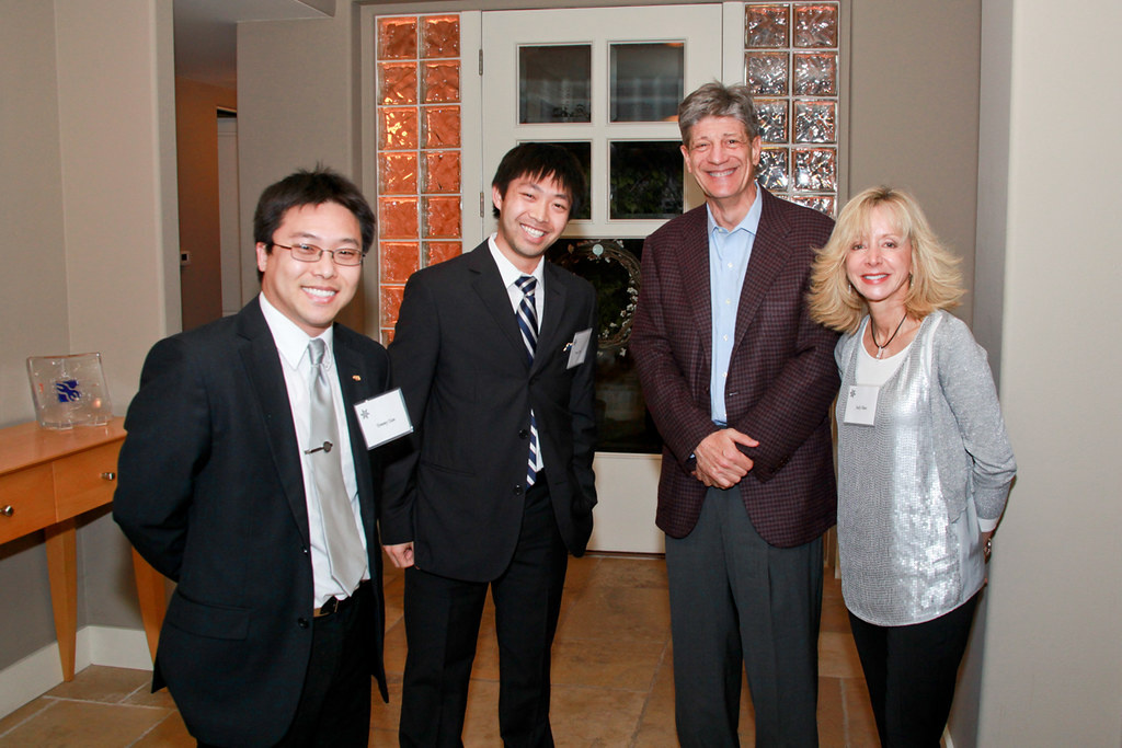 Tommy Tam, James Tam, Bruce Raben, Dean Judy Olian | Flickr