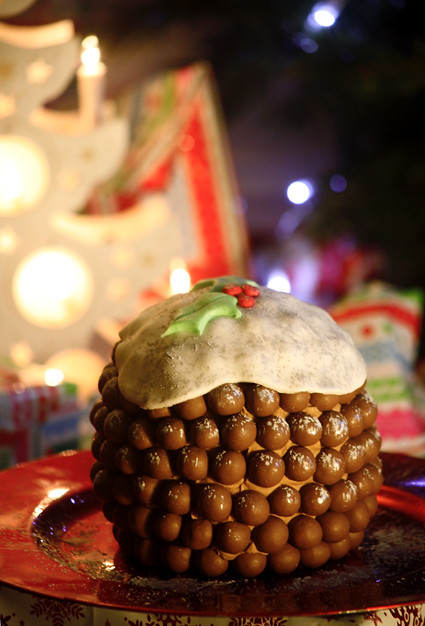 Malteser Christmas Pudding Www Madewithloveby Me
