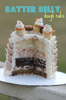 Finalist 4: Batter Belly Dough Cake | by cakespy