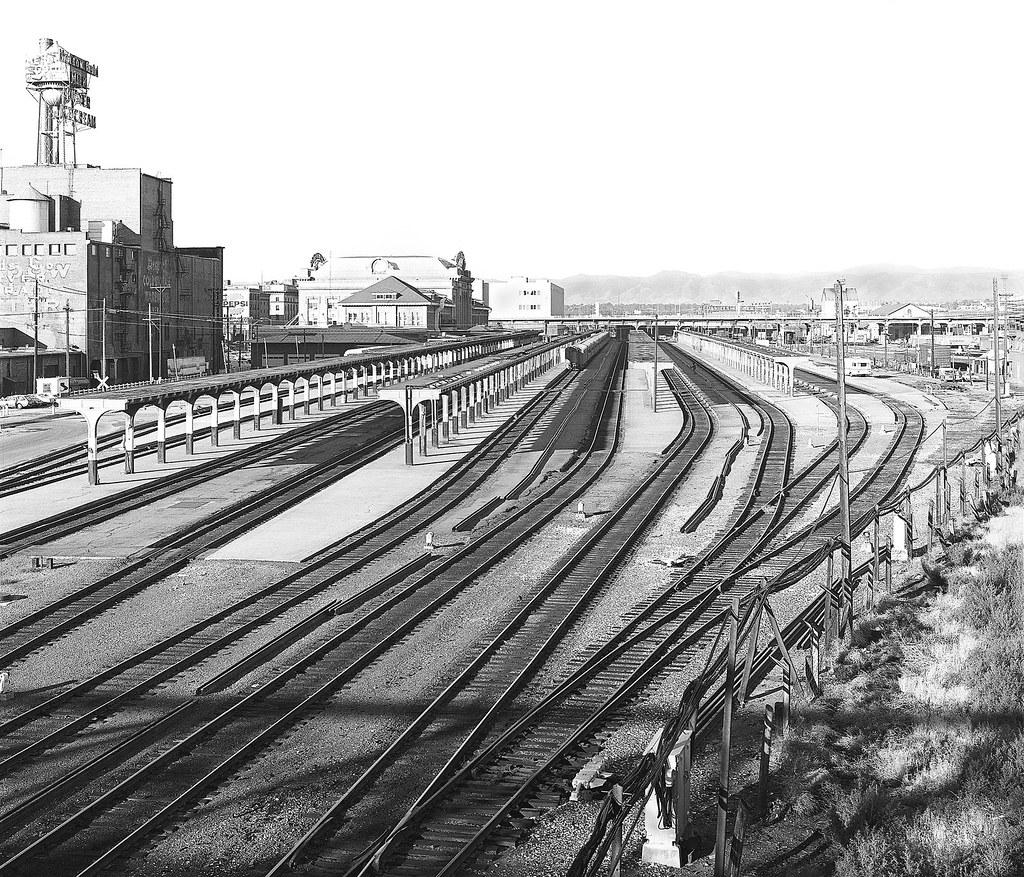 Denver Union Station: Denver Union Station Platform Tracks, As Seen In 1980