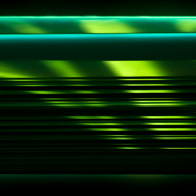 Lines in green