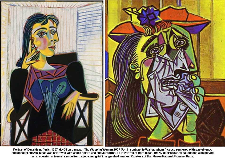 Museo Picasso Paris.Portrait Of Dora Maar Paris 1937 L Oil On Canvas T Flickr