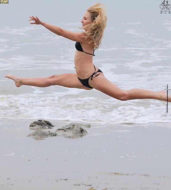 Swimsuit Bikini Model Photoshoot