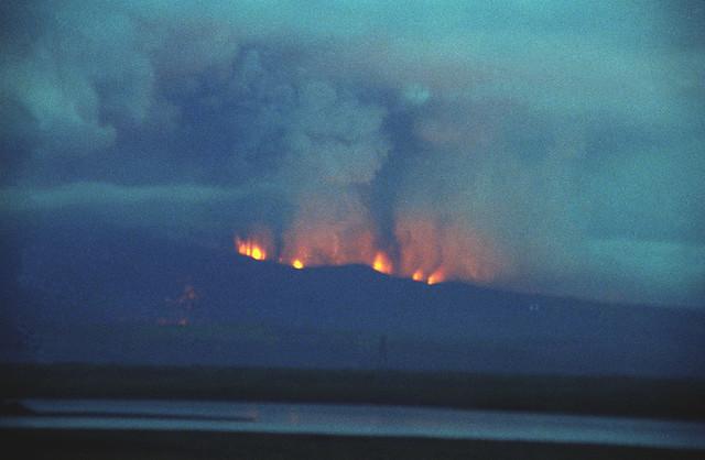 Hekla Eruption 17 August 1980