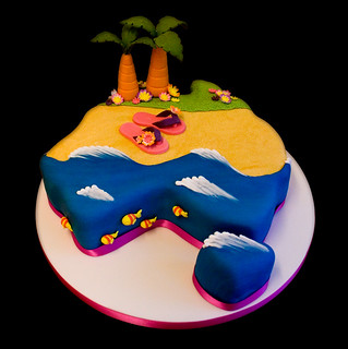 Australia Beach Cake | by Sucre Coeur - Eats & Ink