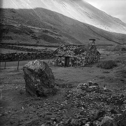 The Old Drws-y-coed Copper Mine, Dyffryn Nantlle
