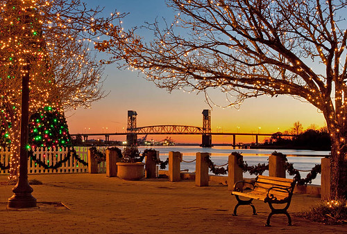 sunset downtown northcarolina wilmington