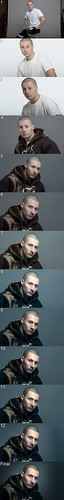 portrait by photography nikon post sean step editing how process tutorial d3 selft scarmack