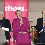 Dr Mohammed Bari, Bishop Adrian Newman and Rabbi Jonathan Wittenberg