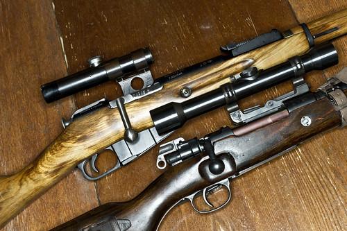 Mauser 98k vs. Mosin-Nagant