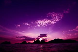 Phuket sunset2   by sho3333