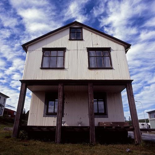 "Image titled ""House, Húsavík, Iceland."""