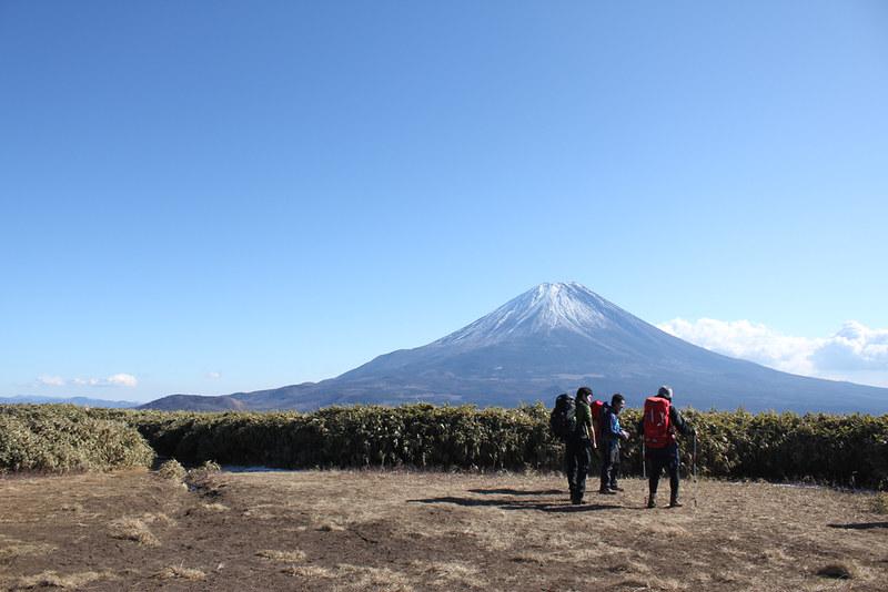 竜ヶ岳山頂