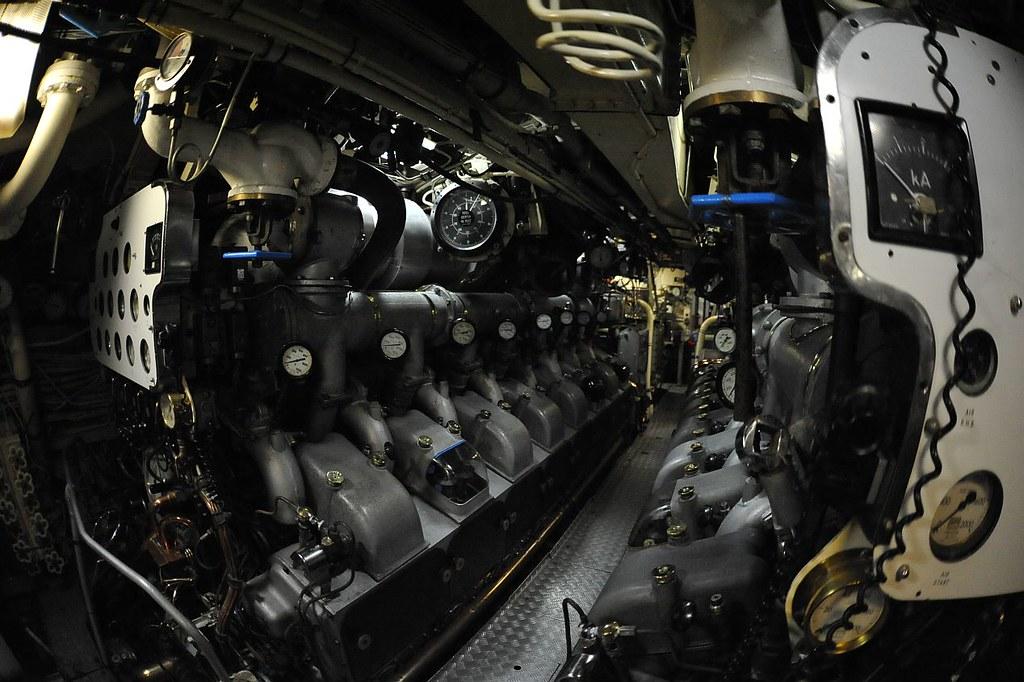 HMAS Onslow, Oberon class submarine, 1968 | The propulsion i