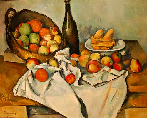 Paul Cézanne (French, 1839-1906) The Basket of Apples, c. 1893 | by UGArdener