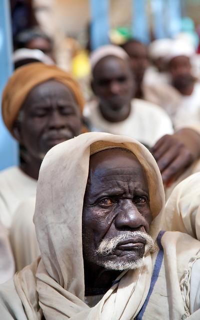 Leaders in Darfur Camp Voice Concerns