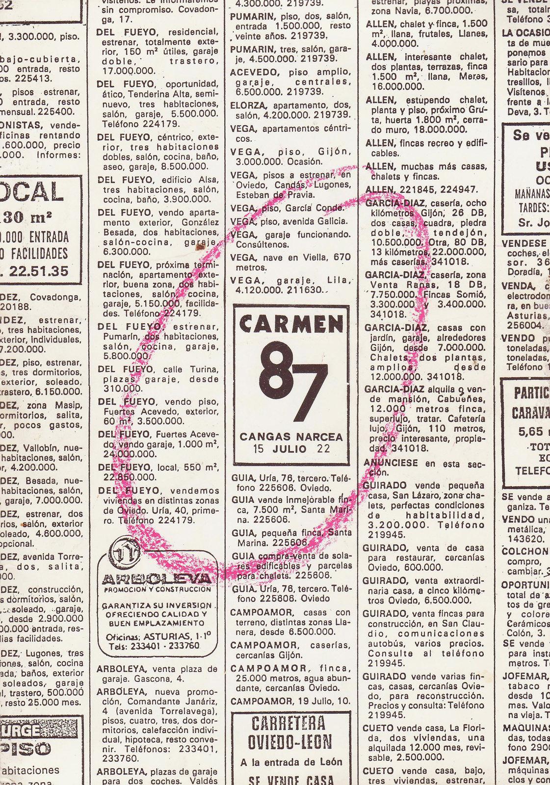 Cartel 1987