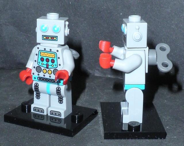 legos minifigures S6 (robots) 1