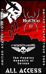 Hocico Tour Lanyard Front