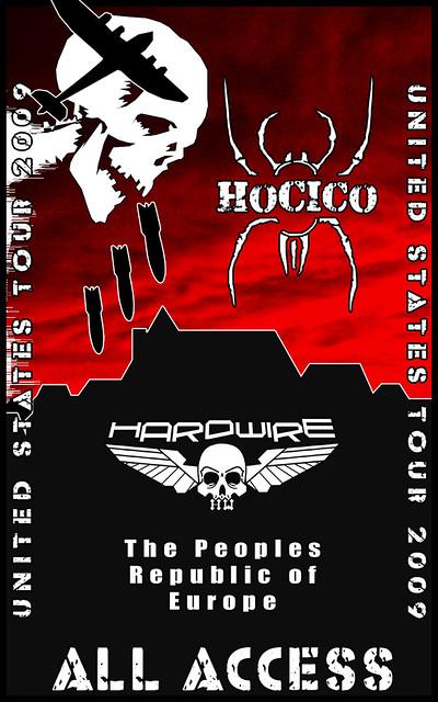Hocico Tour Lanyard Front