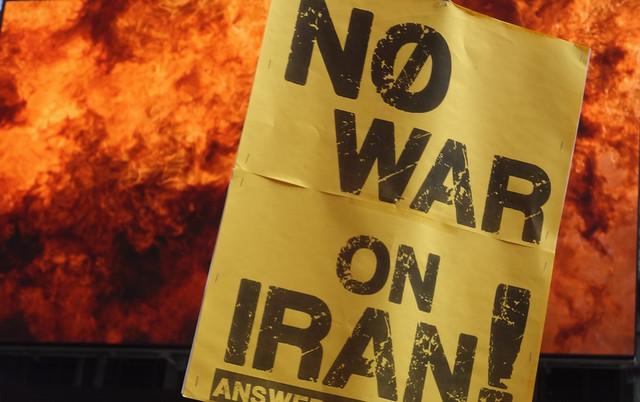 No War On Iran NYC March