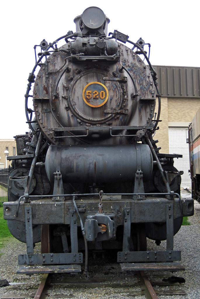 Pennsylvania Railroad # 520 steam locomotive (L1s 2-8-2) 7