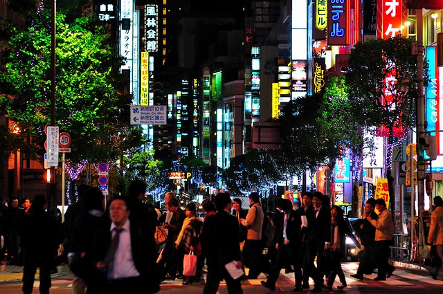 Black Friday Night in Kabukicho