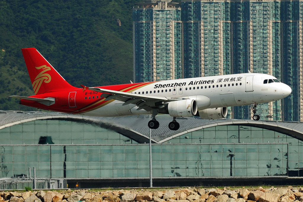 Shenzhen Airlines Airbus A320-214 B-6313  MSN 3132