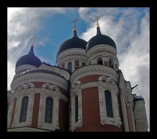 CATEDRAL.ALEXANDER NEVSKY.ESTONIA. TALLIN.