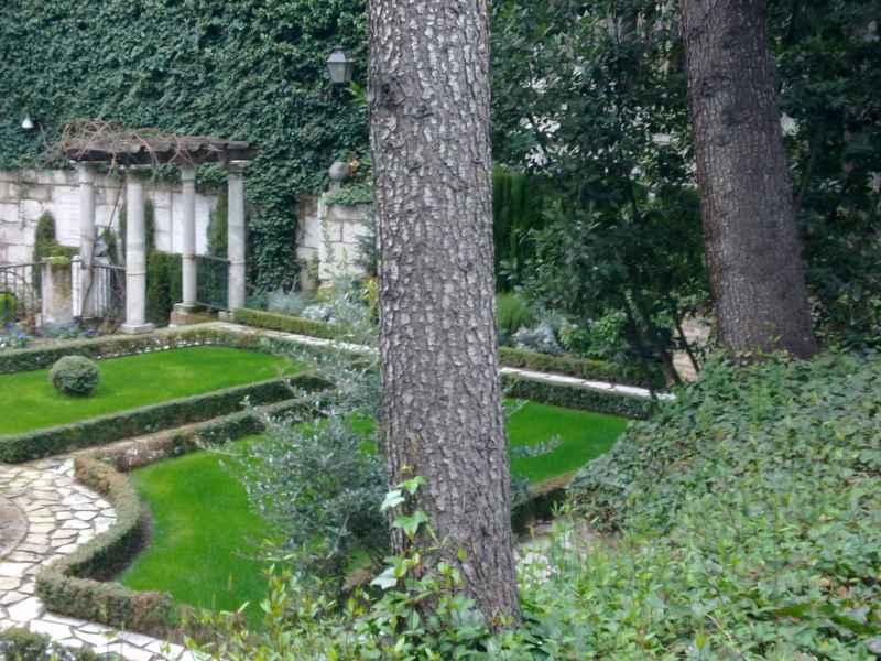 Jardín Casa Cervantes Valladolid