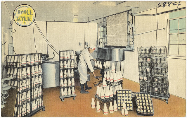 Dyke's Dairy Pasteurized Milk and Cream