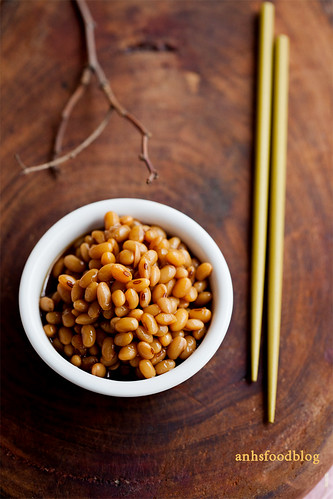 Soy beans, simmered in ginger and sweet soy sauce | by anhsphoto_busy!!
