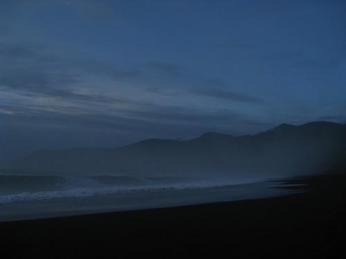 ocean sunset beach northerncalifornia waves pacific blacksandsbeach westcoast humboldtcounty nightfall californiawinter sheltercove leftcoast pacificoceann