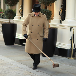 Sweeper in Top Hat