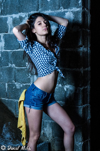 Carwash girl by Daniel Mihai