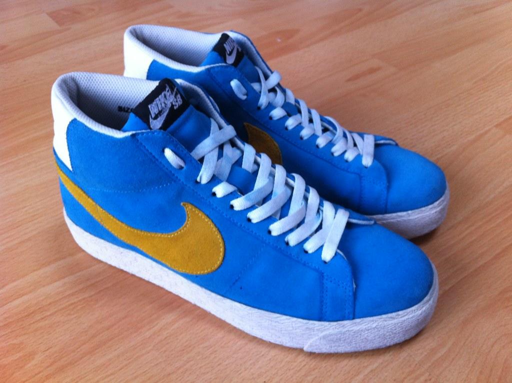 desigual en el rendimiento venta outlet 50-70% de descuento Nike Rare SB Blazer Hi-Top Sweden Danijel Todorovic Size 8… | Flickr