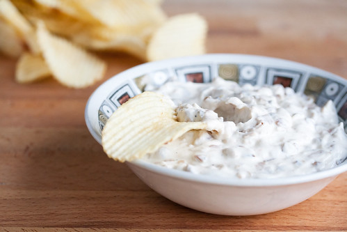 Lightened-Up French Onion Dip | by Isabelle @ Crumb