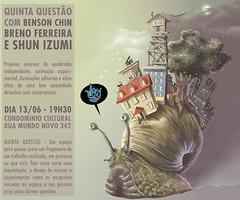5.ª Questão Estúdio 2+1 - Benson Chin, Breno Ferreira e Shun Izumi - 13-06-2013